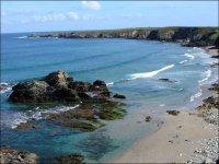 农村冲浪海岸海滩