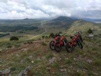 Fat bikes frente a la sierra