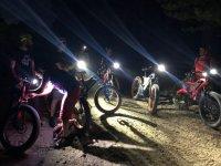 Rutas en bici nocturnas