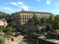Fachada Alhambra de Granada