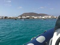 Vista del pueblo desde la embarcacion