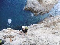 Escalada sobre el mar