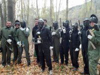 Group paintball in Huermeces del Cerro