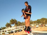 Flyboard with the small