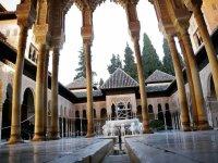 阿尔罕布拉宫的狮子院