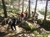 风景线徒步旅行了自然和乐趣