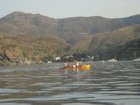 路线皮艇皮划艇皮艇在黎明