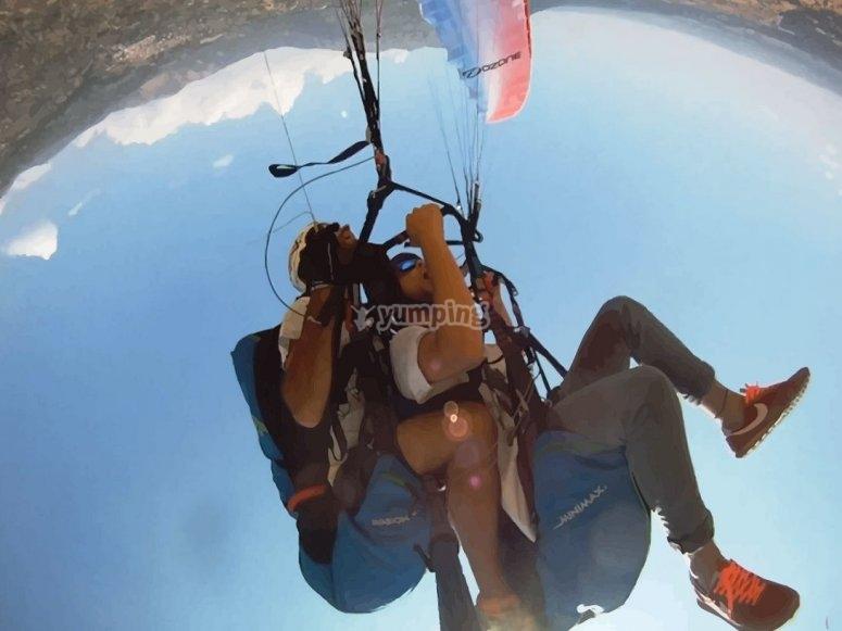 Acrobatics in flight