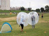Juega al futbol burbuja