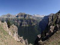 观赏Ordesa山谷的观景点