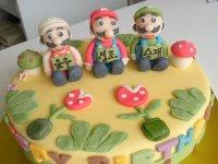 Tarta de Mario Bros