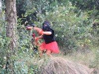 Camouflage among the vegetation