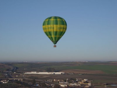 Exclusive balloon flight for 2 in Sevilla
