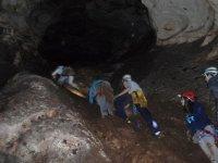 pendiente de la gruta