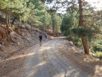 salendo in mountain bike