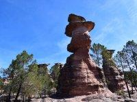 Curiosas formaciones de roca