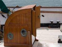 Interior del velero