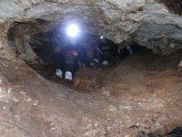 illuminazione della grotta