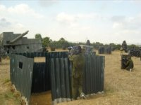 Escenario campamento militar