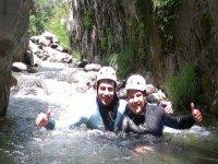 Barranquismo aventura