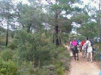Excursion a caballo Lleida