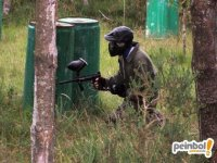Paintball in the midst of nature