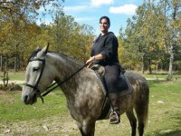 Subida al caballo en Guadarrama
