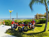Come with friends to visit Marbella in a KTM