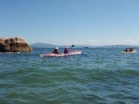 two-sea kayaks