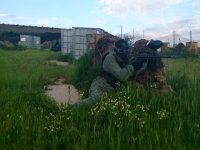 Paintball battles in Tres Cantos and Aranjuez
