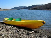 Two-seater canoe