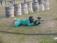 Paintball stage in Algete