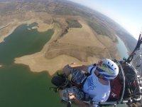 Disfruta de la experiencia de volar