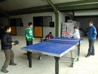 Jugando a ping-pong