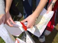 With the map