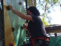 escalando el reocodromo