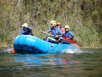 Haciendo rafting