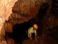 Espeleología en la Cueva de las Maravillas
