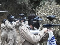 Aiming in paintball