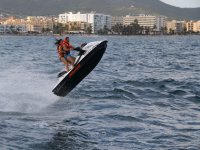 rocking horse with the jet ski in ibiza