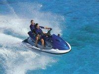 two-seater jet ski