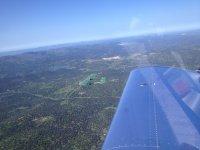Vista de otro avion