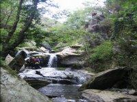 Cascata del fiume freddo