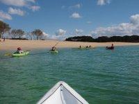 salidas de kayaks