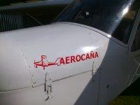 Logo elogo sull'aereo