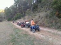 Percorsi quad nella valle del Cofrentes