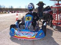 Kart con piloto