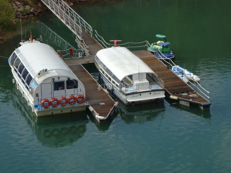 Paseo en barco Júcar