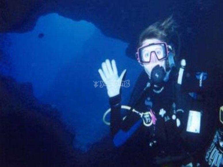 Baja a las profundidades