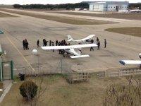 Visitando los aviones